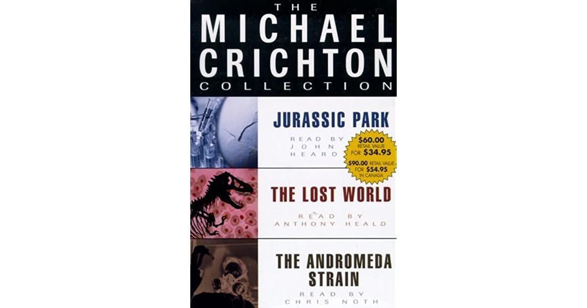 a review of michael crichtons science fiction novel jurassic park Book of the month let me just state that while jurassic park is a science fiction  novel, it has elements that could be considered urban fantasy now, i have to say .