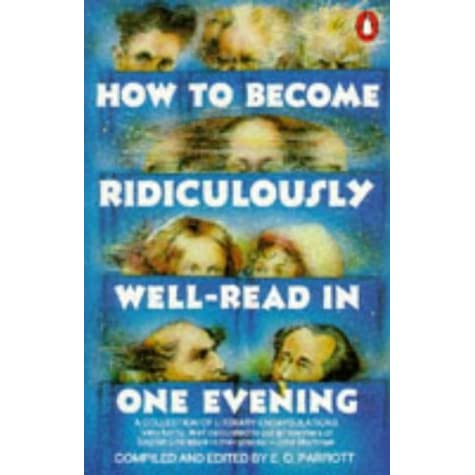 how to become ridiculously well-read in one evening pdf