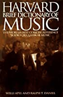 Harvard Brief Dictionary of Music