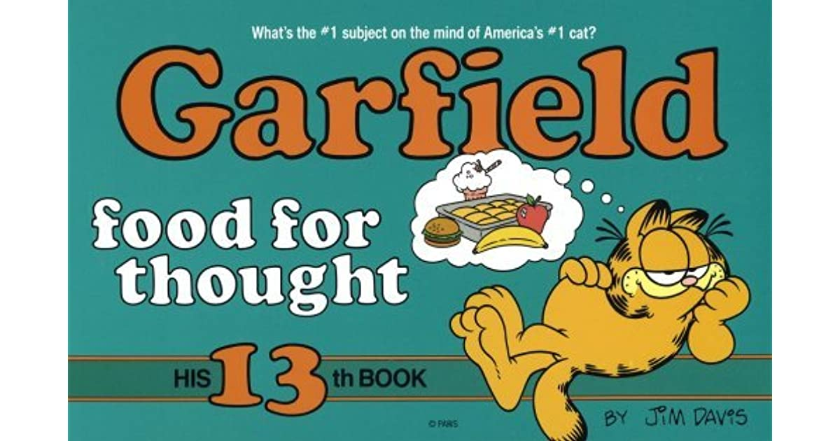 Garfield S Food Of Choice