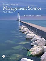 Introduction to Management Science [With CD-ROM]