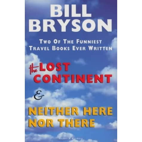 Image result for neither here nor there bill bryson
