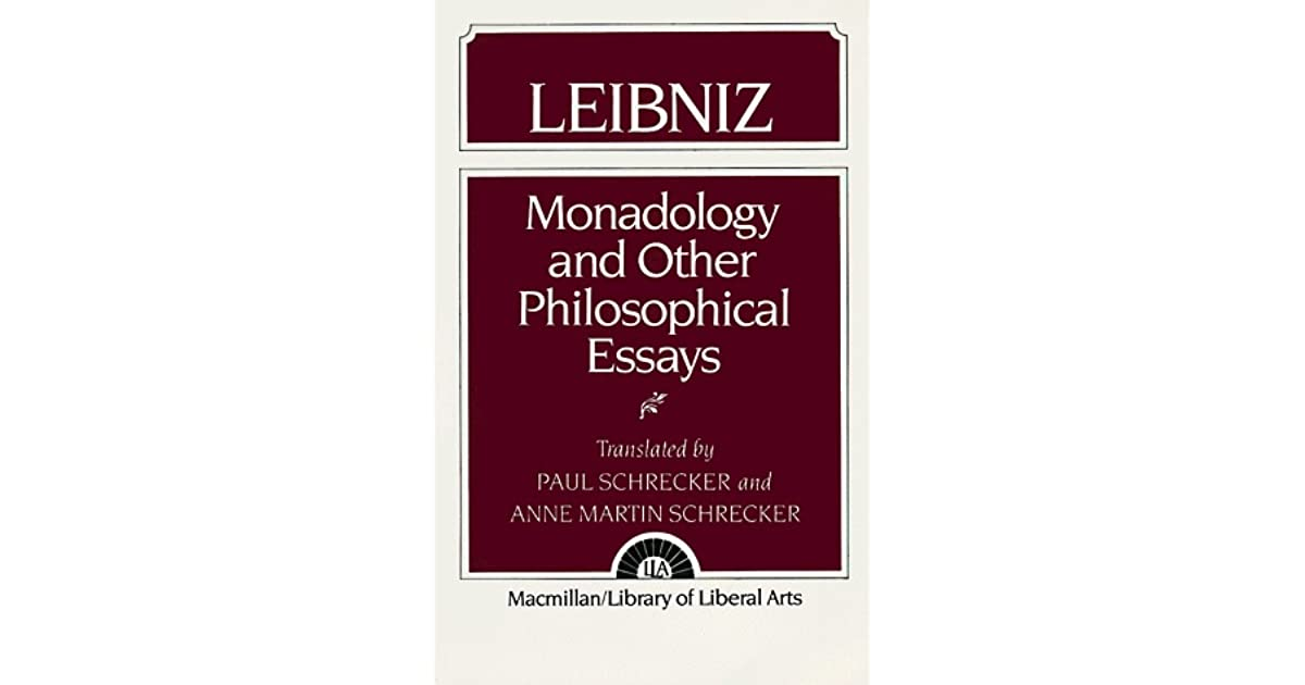 philosophical essays leibniz