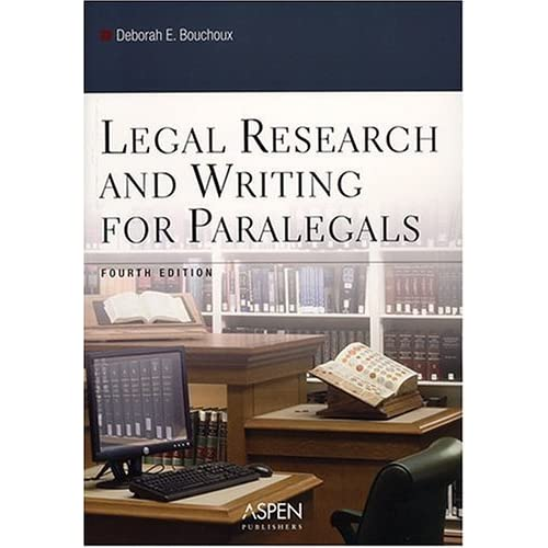 Legal Writing & Research