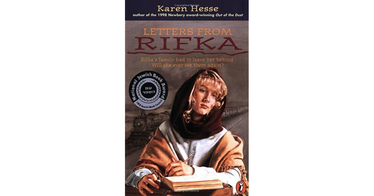 letters from rifka by karen hesse reviews discussion bookclubs lists