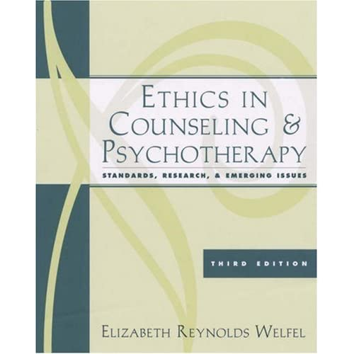 Research paper on ethics in counseling