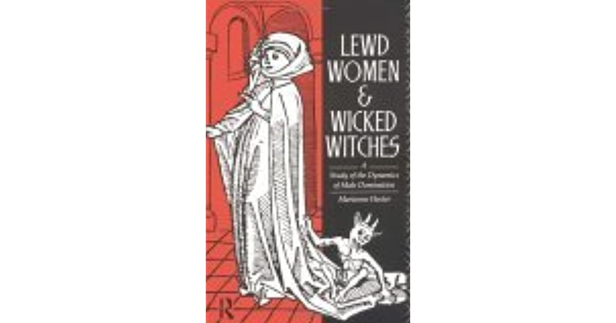 Domination dynamics in lewd male study wicked witch woman