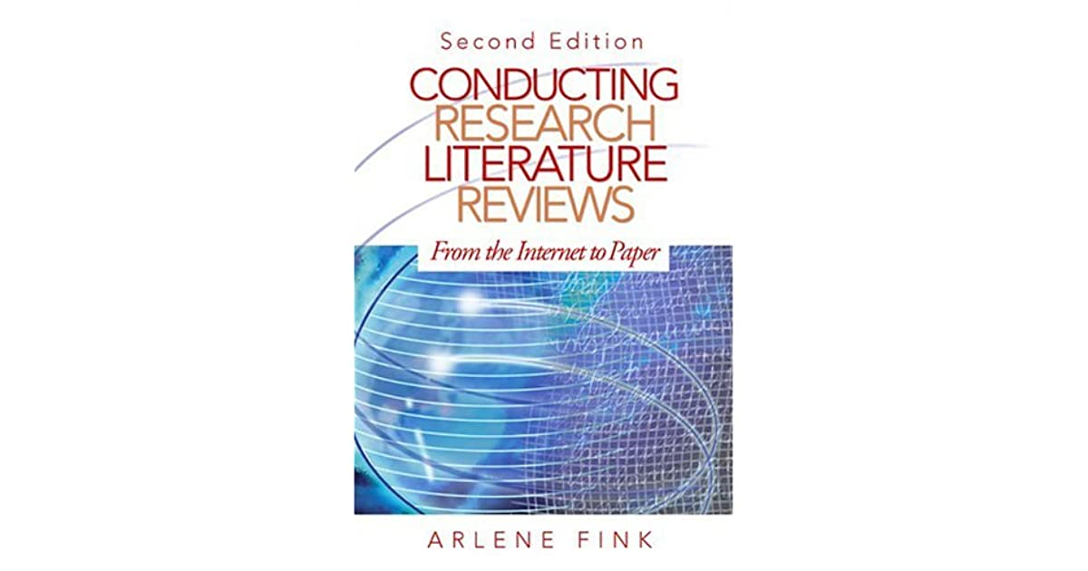 Conducting literature research reviews from paper to the internet