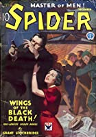 The Spider, Master of Men! #3: Wings of the Black Death!