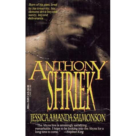 a review of jessica amanda salmonsons book anthony shriek Item 4 jessica amanda salmonson anthony shriek or lovers from a darker realm - anthony shriek by jessica a salmonson 1992 paperback anthony doerr books.