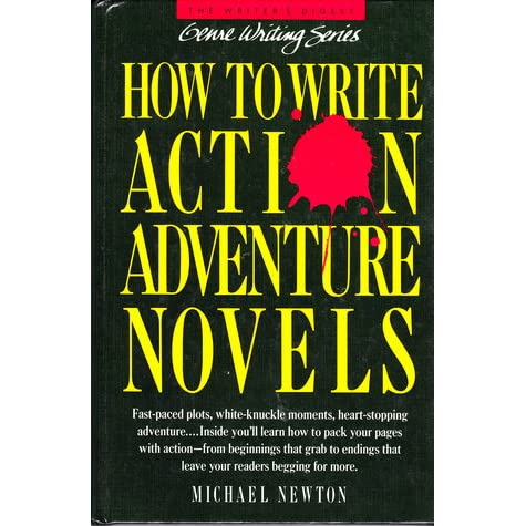 Writing action adventure novels for adults