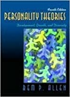 Personality Theories: Development, Growth, And Diversity