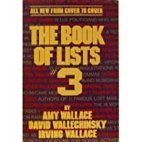 The People's Almanac Presents The Book of Lists #3