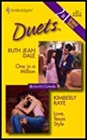 One in a Million / Love, Texas Style (Harlequin Duets, #4)