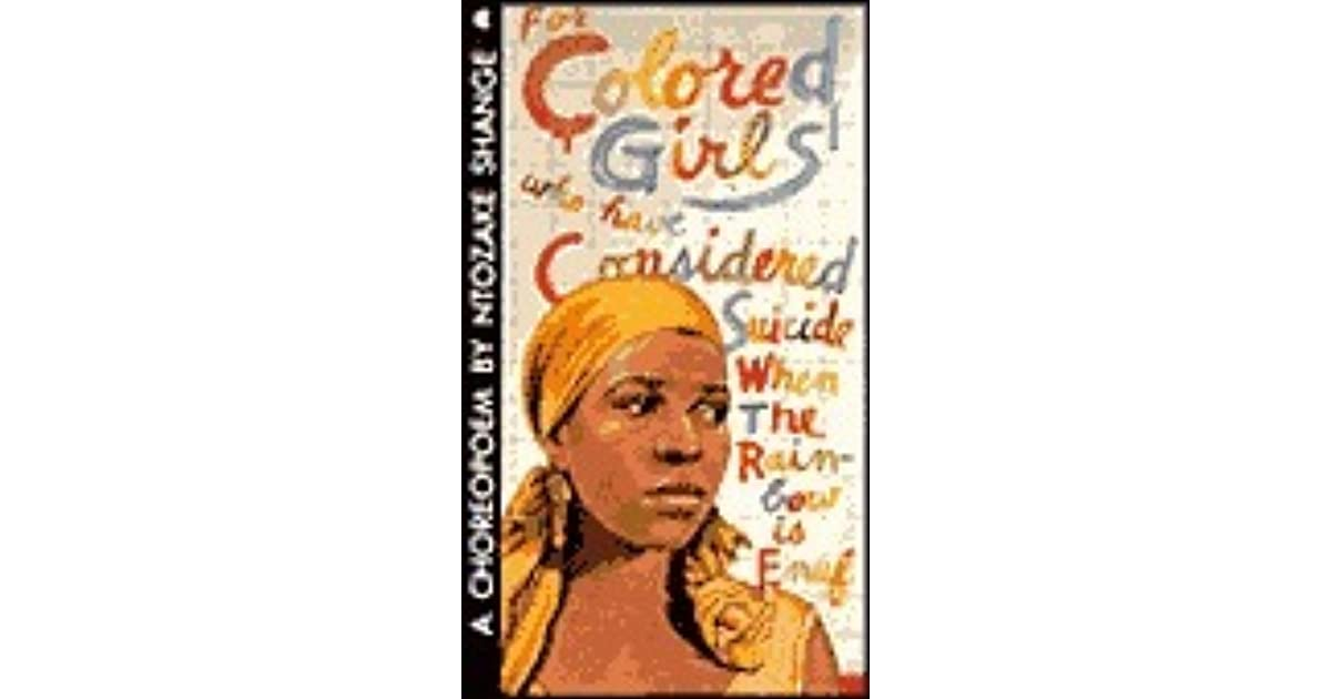 For colored girls book
