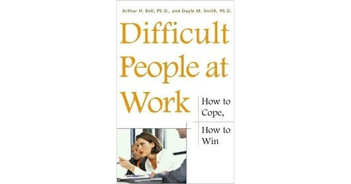 difficult employees discussions We all have difficult people we need to deal with in if you can divert the angry person's attention to some meaningful task or a calm discussion of the.