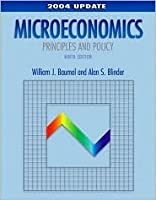 Microeconomics: Principles and Policy, 2004 Update