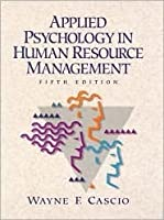 applied psychology in human resource management pdf