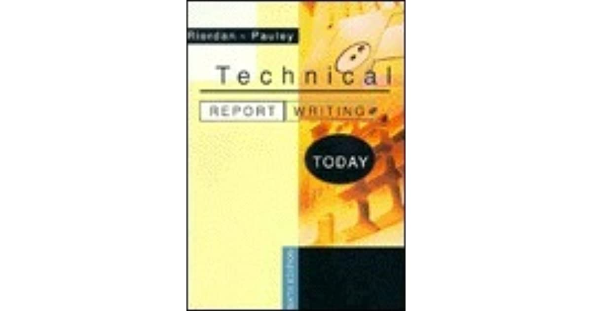 technical report writing books