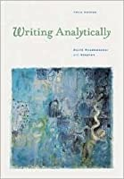 Writing Analytically (With Info Trac)