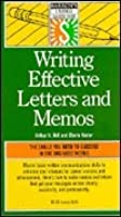 Writing Effective Letters and Memos