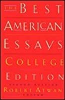 Best american essays college edition