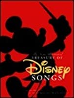 The New Illustrated Treasury of Disney Songs: Complete Sheet Music for Over 60 Popular Tunes