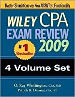 Wiley CPA Exam Review 2009: 4-Volume Set (Wiley Cpa Examination Review (4 Vol Set))