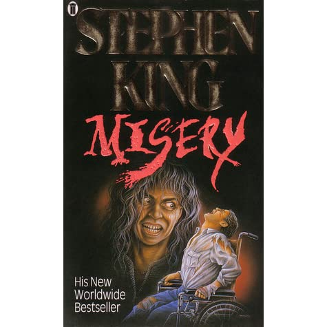 a review of misery a novel by stephen king Adapted from a stephen king novel, rob reiner's misery cast james caan as a writer at a career crossroads the film opens with paul sheldon (caan) completing work on his latest novel, a break from.