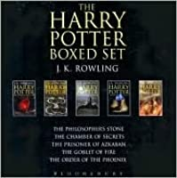Harry Potter Adult Boxed Set (Harry Potter, #1-5)