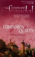 A Companion Of Quality (The Steepwood Scandal, Book 4)