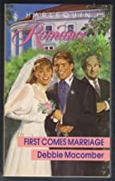 First Comes Marriage (Solution: Wedding, #3)