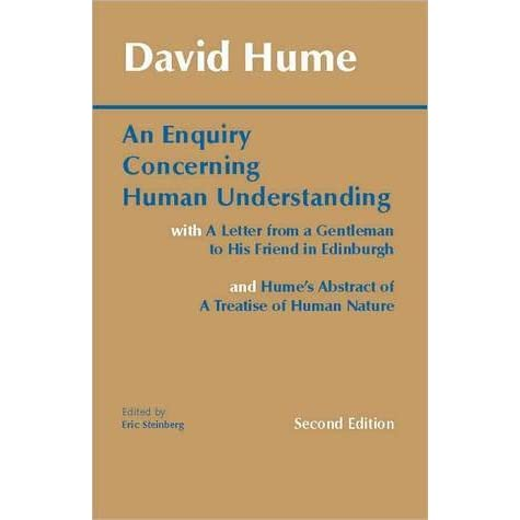 an analysis of miracles in an enquiry concerning human understanding by david hume 36 quotes from an enquiry concerning human understanding: 'in our reasonings concerning matter of fact, there are all imaginable degrees of assurance, fr.