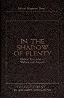 In the Shadow of Plenty: The Biblical Blueprint for Welfare (Biblical Blueprints Series)