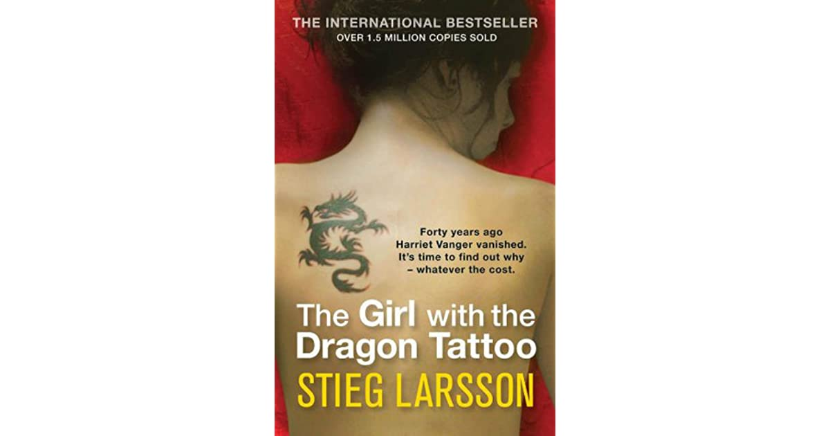 The girl with the dragon tattoo millennium 1 by stieg for Book series girl with the dragon tattoo