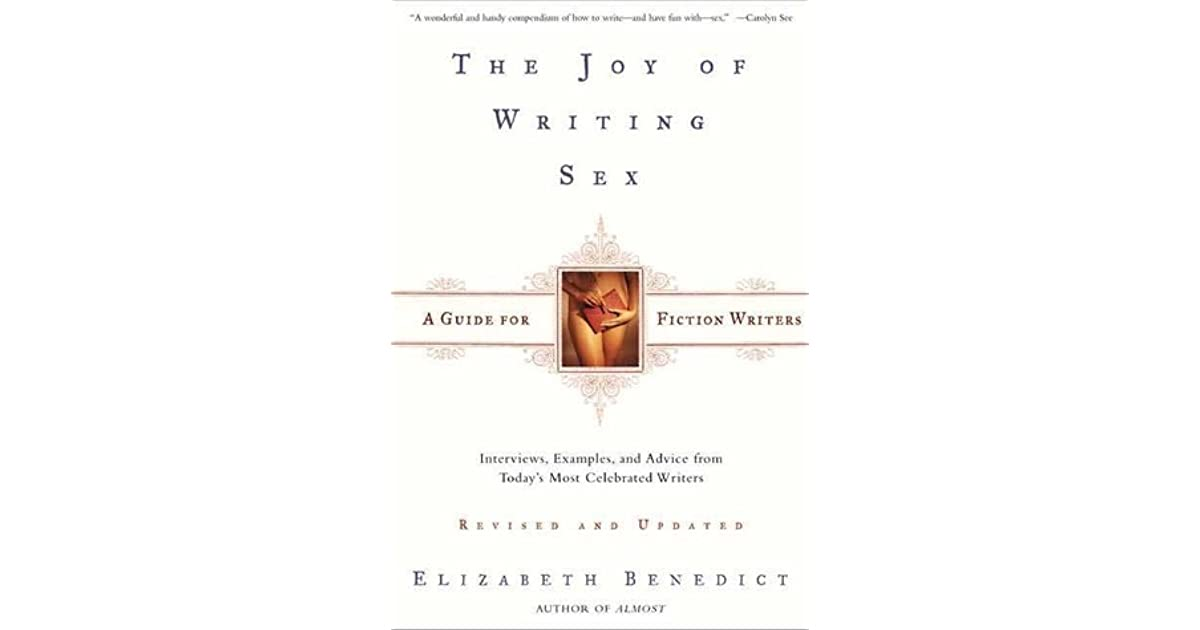 joy of writing sex