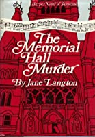 The Memorial Hall Murder (Homer Kelly Mystery #3)