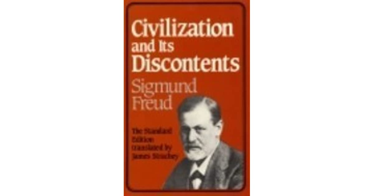 """sigmund freud civilization and its discontents essay """"civilization and its discontents"""" is a book written by sigmund freud in 1929 (originally titled """"das unbehagen in der kultur"""" or the uneasiness in culture) this is considered to be one of freud's most important and widely read works."""