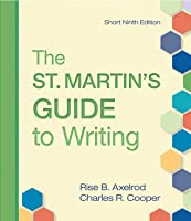 The St. Martin's Guide to Writing Short Edition