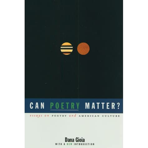 can poetry matter essay