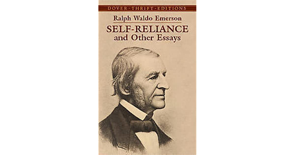 self reliance and other essays Find great deals on ebay for self reliance and other essays shop with confidence.