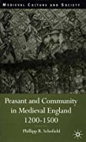Peasant and Community in Medieval England, 1200-1500