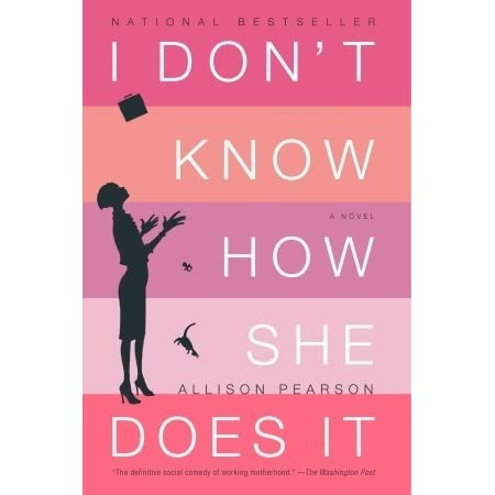 Image result for i don't know how she does it book