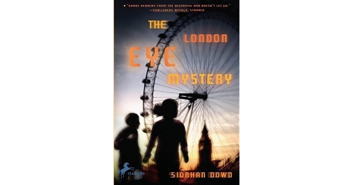 book summary the london eye mystery
