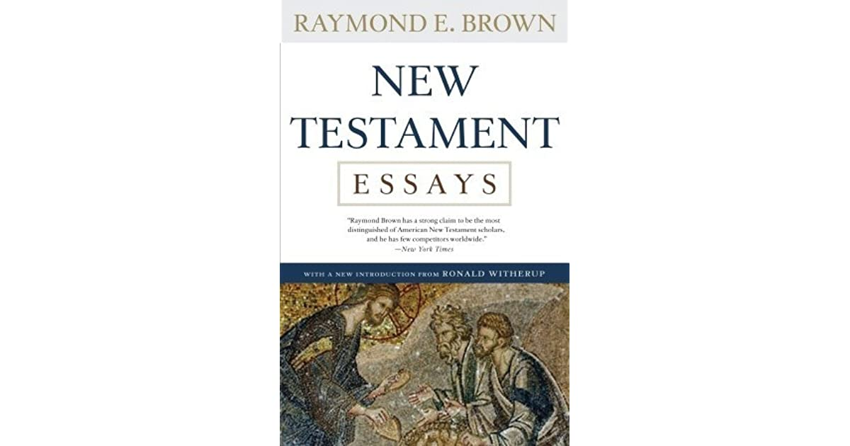 new testament 2 essay In this course we survey the new testament, focusing on its over-arching vision  of god's  interpretation essay: due by midnight on friday, december 2 nd.