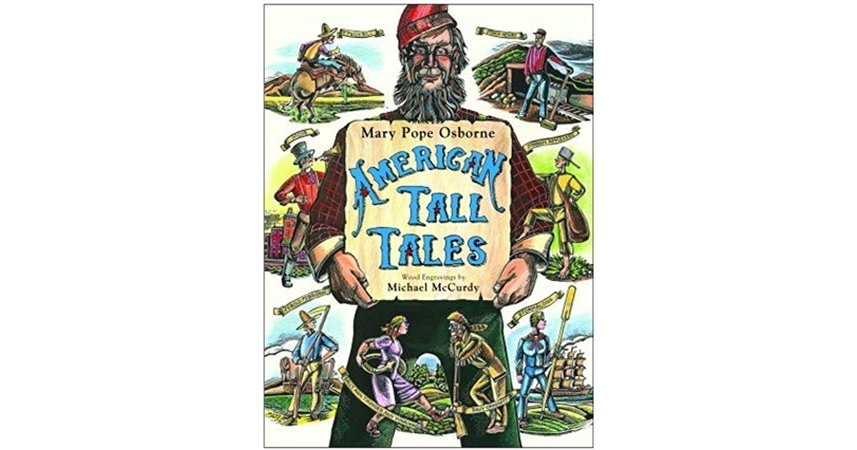 American Tall Tales By Mary Pope Osborne