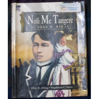 What are the meanings of the symbols in the cover of Noli you Tangere?