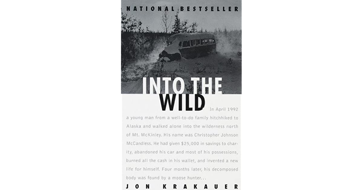 jon krakauer modern youth transcendentalism essay Chris mccandless from jon krakauer's into the wild is no exception  free into the wild essays and  a young man who chooses the call of nature over modern.
