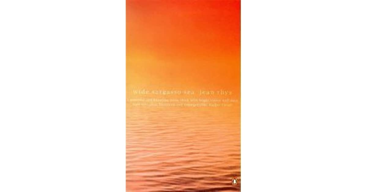 wide sargasso I first fell in love with jean rhys' writing through reading wide sargasso sea it was a love affair that changed my idea of what fiction could do.