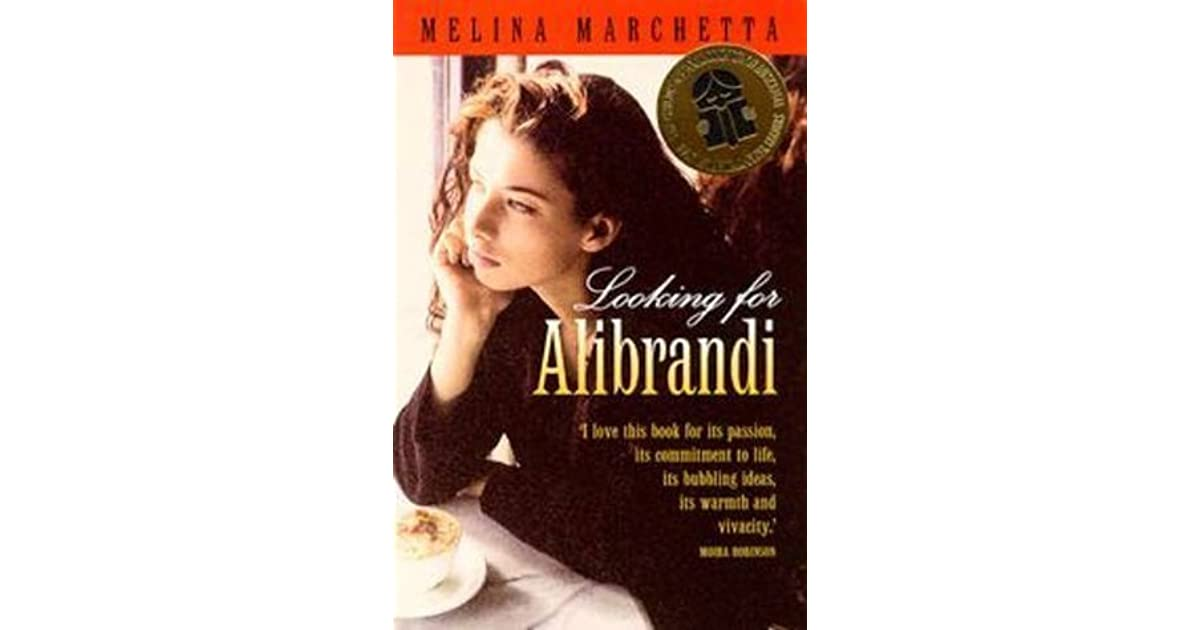 a review of the novel looking for alibrandi Looking for alibrandi is based on a novel of the same name by melina marchetta who also co-wrote the script this is a heart-felt, intelligent and gently humorous girl - coming of age story as soon as i saw it i ordered the book for my teenaged daughter josie is the seventeen year-old daughter of christina (greta.